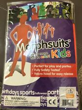 Morphsuits Kids Original Costume Halloween Orange, Small New