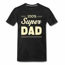 100% Super Dad Father's Day Men's Premium T-Shirt
