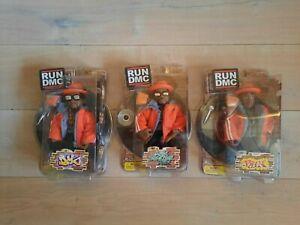 Mezco Run DMC figures orange gray jacket