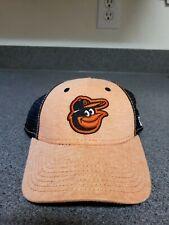 timeless design 4e418 9b800 Baltimore Orioles Team New Era 9Twenty Strapback Hat Cap Women s