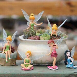 6Pcs Tinkerbell Fairies Princess Action Figures Doll Toy Kids Children xmas Gift