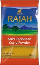 Mild Caribbean Curry Powder by Rajah 100g High Quality
