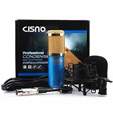 Nihao audio Professional Condenser Microphone Mic Studio Sound Recording Shock