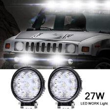 2x Car 12V LED Work Spot Lights Spotlight Lamp 4x4 Van ATV Offroad SUV Truck mkl