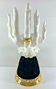 Bath & Body Works Halloween Witch Gothic Skeleton Bony Hand Candle Holder 2021