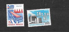 1991 MNH Indonesia Michel 1380-81 postfris**