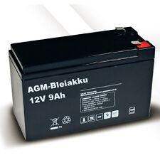 AGM BLEI AKKU 12V 9Ah kompatibel für APC BACK-UPS RBC17-BD1 CS 650 ES 700 BX 800