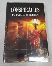 Gauntlet F. Paul Wilson CONSPIRACIES Repairman Jack Signed SHRINK WRAPPED NEW