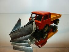 PENNY 01/118 ESADELTA TRUCK + SNOW SHOVEL - RED + ORANGE 1:66 - GOOD CONDITION
