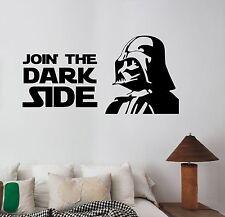 Star Wars Wall Decal Vinyl Sticker Movie Art Home Kids Room Bedroom Decor sws14