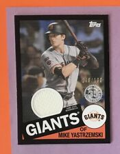 2020 Topps Series 2 Mike Yastrzemski Jersey BLACK /199