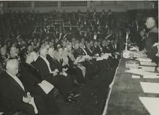 Paris, la Sorbonne, réception de l'Expédition Centre Asie  Vintage silver P