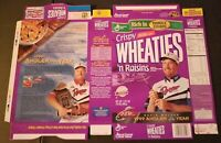 WHEATIES BOX FACTORY FLAT 14X20 ANGLER OF THE YEAR DAVID WALKER MINT CONDITION