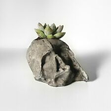Star Wars Darth Vader melted helmet Concrete planter