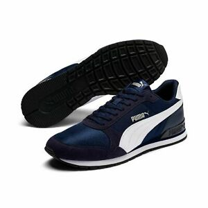 Puma Unisex St Runner v2 Mesh Trainers Low Sneakers Peacoat Blue 366811