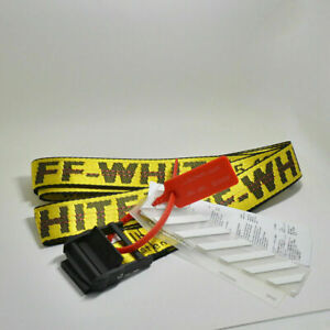 Off White Industrial Tie Down Belt Virgil Abloh 100cm 120cm 130cm 160cm 200cm