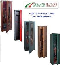 ARMADIO BOX PORTAFUCILI FUCILIERA BLINDATO 8-10-12-14-20 POSTI FUCILI CACCIA