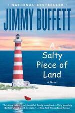 A SALTY PIECE OF LAND novel by Jimmy Buffett FREE SHIPPING paperback book