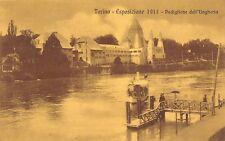 1510) TORINO ESPOSIZIONE INTERNAZIONALE 1911, PADIGLIONE DELL'UNGHERIA. BATTELLO