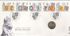 1998 ROYAL BEASTS £1 UNCIRCULATED COIN  RARE FDC