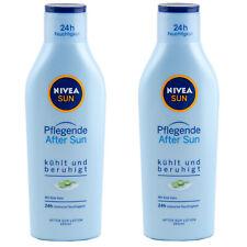 Nivea Sun Pflegende After Sun Milch 2 x 250 ml kühlt und beruhigt mit Aloe Vera