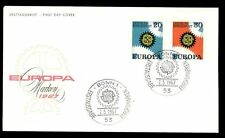 West Germany 1967 Europa FDC, Cover #C7278