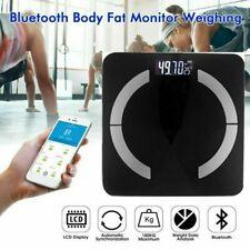 Körperwaage Bluetooth Personenwage Fitnesswaage Gewicht Waage BMI Analyse 180kg