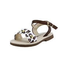 Girl's Stud Leopard Gladiator Thong Sandals Shoes Buckle Slip Toddler size