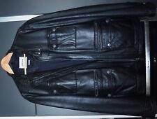 GEOX-RESPIRA  LEDERJACKE,Grösse 56, schwarz