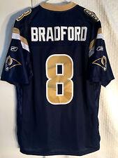 Reebok Premier NFL Jersey St. Louis Rams Sam Bradford Navy sz S