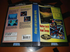 ## SEGA Mega Drive - Double Pack: Another World + Spider-Man Arcade´s Revenge ##