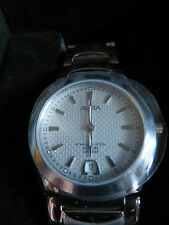 ALBA SAPPHIRE CRYSTALS - WATCH - Stainless Steel Watch Strap - NEVER BEEN USED