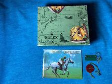 Rolex Boite Et Livret Pour 1991 Datejust