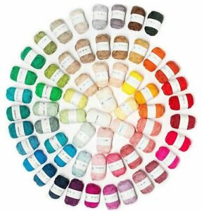 Rico RICORUMI DK 100% Cotton Amigurumi Crochet Yarn wool 25g Balls  FREE POSTAGE