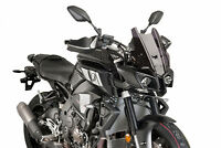 PUIG TOURING SCREEN YAMAHA MT-10 16-21 DARK SMOKE