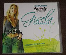 Eurovision Song Contest 2008 Gisela Casanova Andorra special edition promo CD