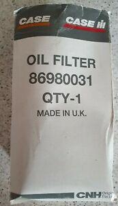 CASE/IH MXM SERIES TRACTOR ENGINE OIL FILTER 86980031
