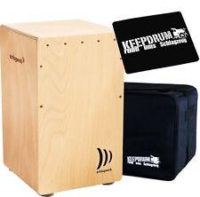 """Planta de golpe cp-4005 Cajon bordón """"la perú"""" libro + KEEPDRUM gig bag + cp-01 Pad"""