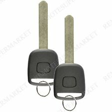 2 Replacement for Honda 2002-2005 CR-V 2003-2005 Civic Remote Key Fob Car Entry