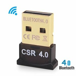 Mini Bluetooth Stereo Wireless Audio Transmitter Receiver USB PC Dongle Adapter