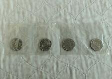 CANADA 1969 VOYAGEUR 4 X $1  - still mint sealed