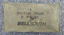 Vintage Bellsouth Technician Pouch Telecommunication