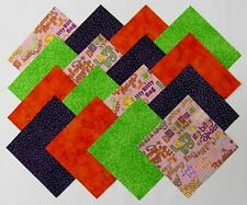 """24 5"""" LOVE BUG Fabric Quilt Squares Quilting Bugs Cotton Novelty Kids Material"""