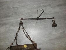 Antique Scale Hardware Grocery Store Iron Brass Waage Bilancia Balance KLS OLD