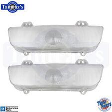 60 Impala El Camino Clear Front Parking Light / Turn Lamp Lenses