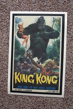 King Kong #3 Lobby Card Movie Poster Bruce Cabot Fay Wray