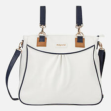 Brand new Mayoral changing bag navy and white SALE