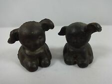 Cast Iron Miniature Puppy Dog Paperweight
