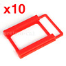"""10X 2.5"""" to 3.5"""" SSD/Hard Drive Bay Adapter Mounting Bracket HDD Converter Tray"""