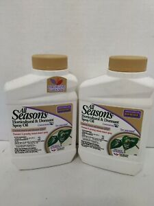 2-Bonide All Seasons Horticultural and Dormant Spray Oil Insecticide Concentrate